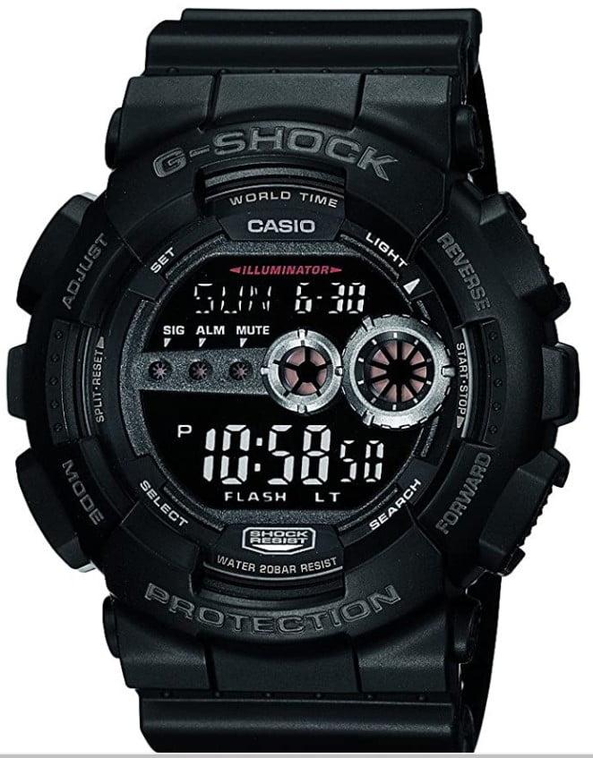 Casio Men's GD100-1BCR G-Shock X-Large Black